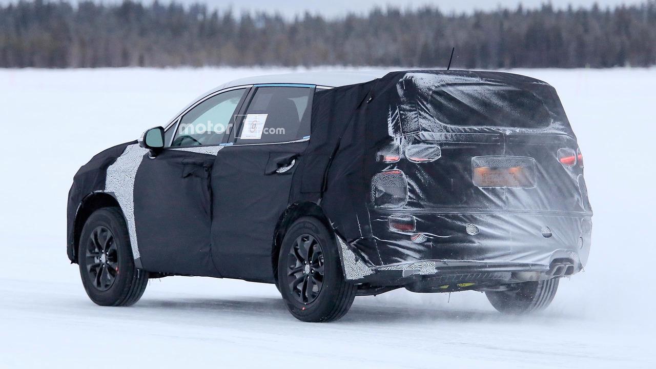 Nowy Hyundai Santa FE spy