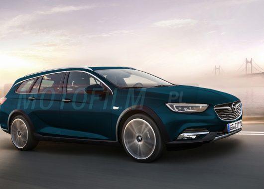 Opel Insignia Country Tourer rendering Motofilm.pl