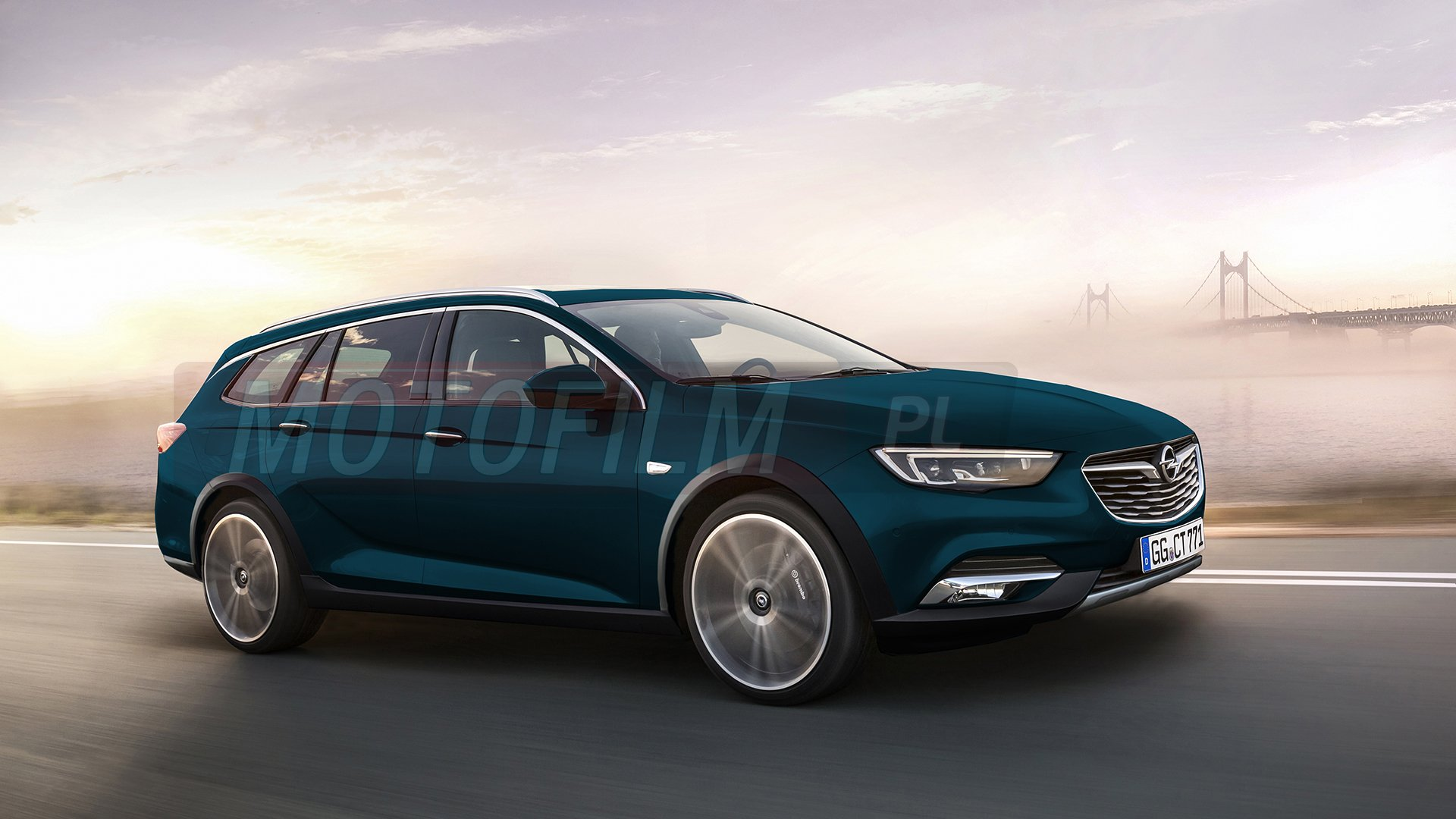 opel insignia country tourer rendering. Black Bedroom Furniture Sets. Home Design Ideas