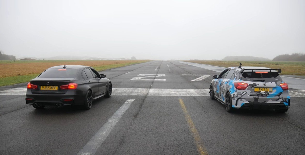 BMW M3 vs. Mercedes A45 AMG