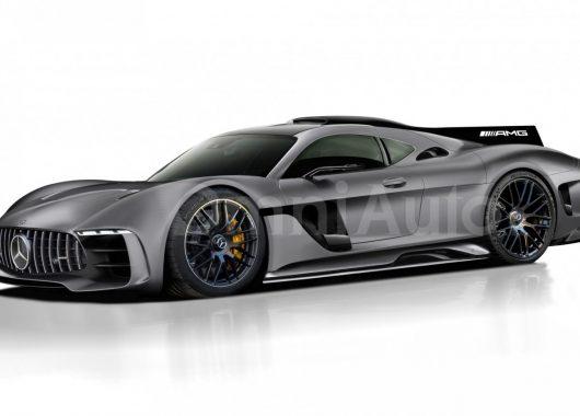 Mercedes-AMG Hypercar rendering