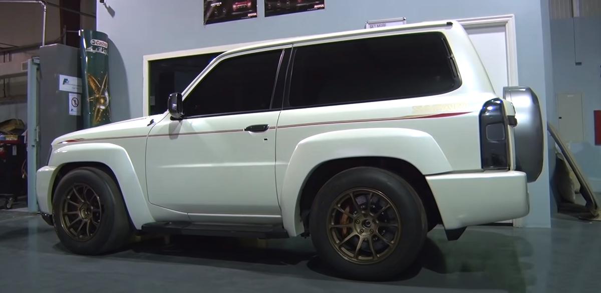 Nissan Patrol, biały