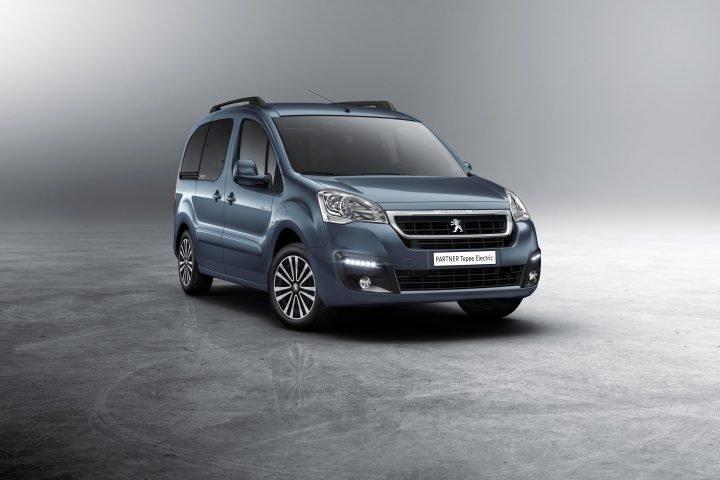 2017 Peugeot Partner Tepee Electric