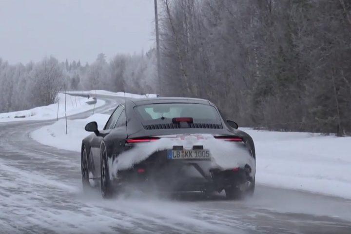 Porsche 911 2019 spy