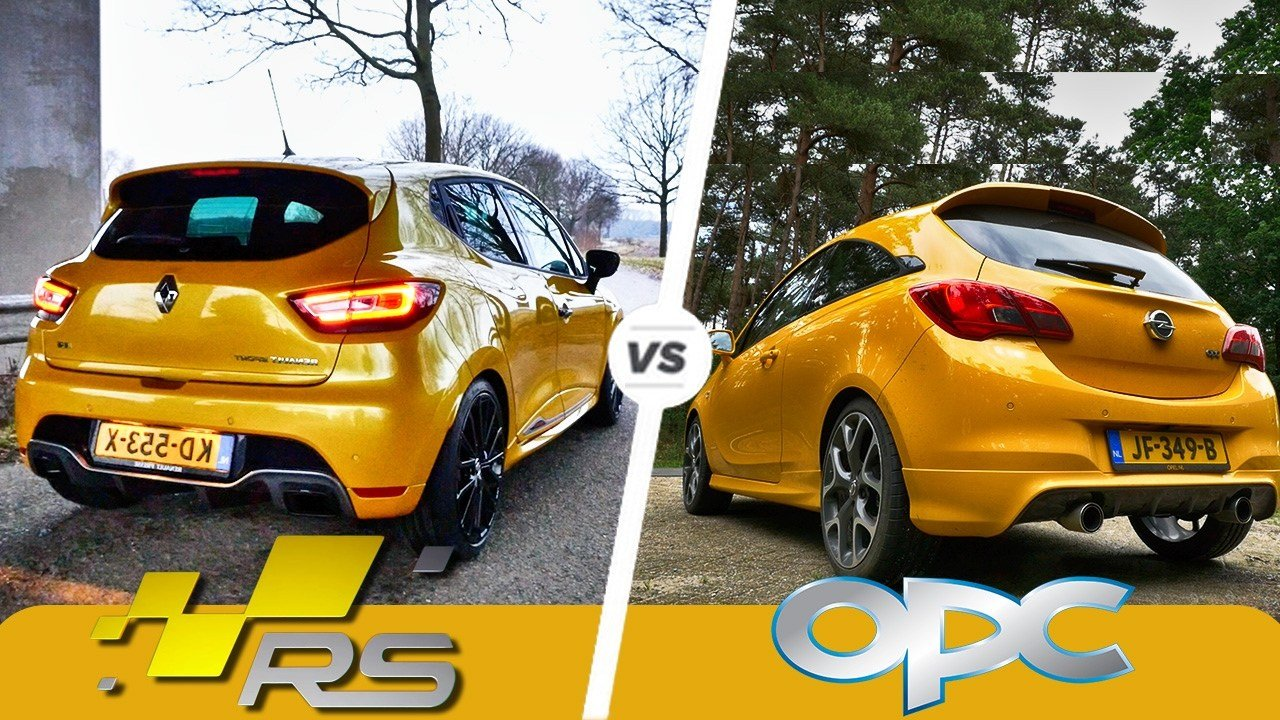 Opel Corsa OPC kontra Renault Clio R.S