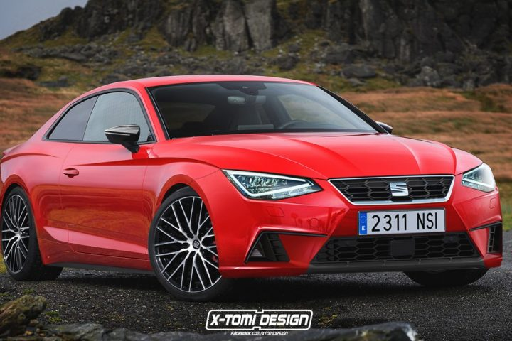 SEAT SALSA COUPE RENDERING