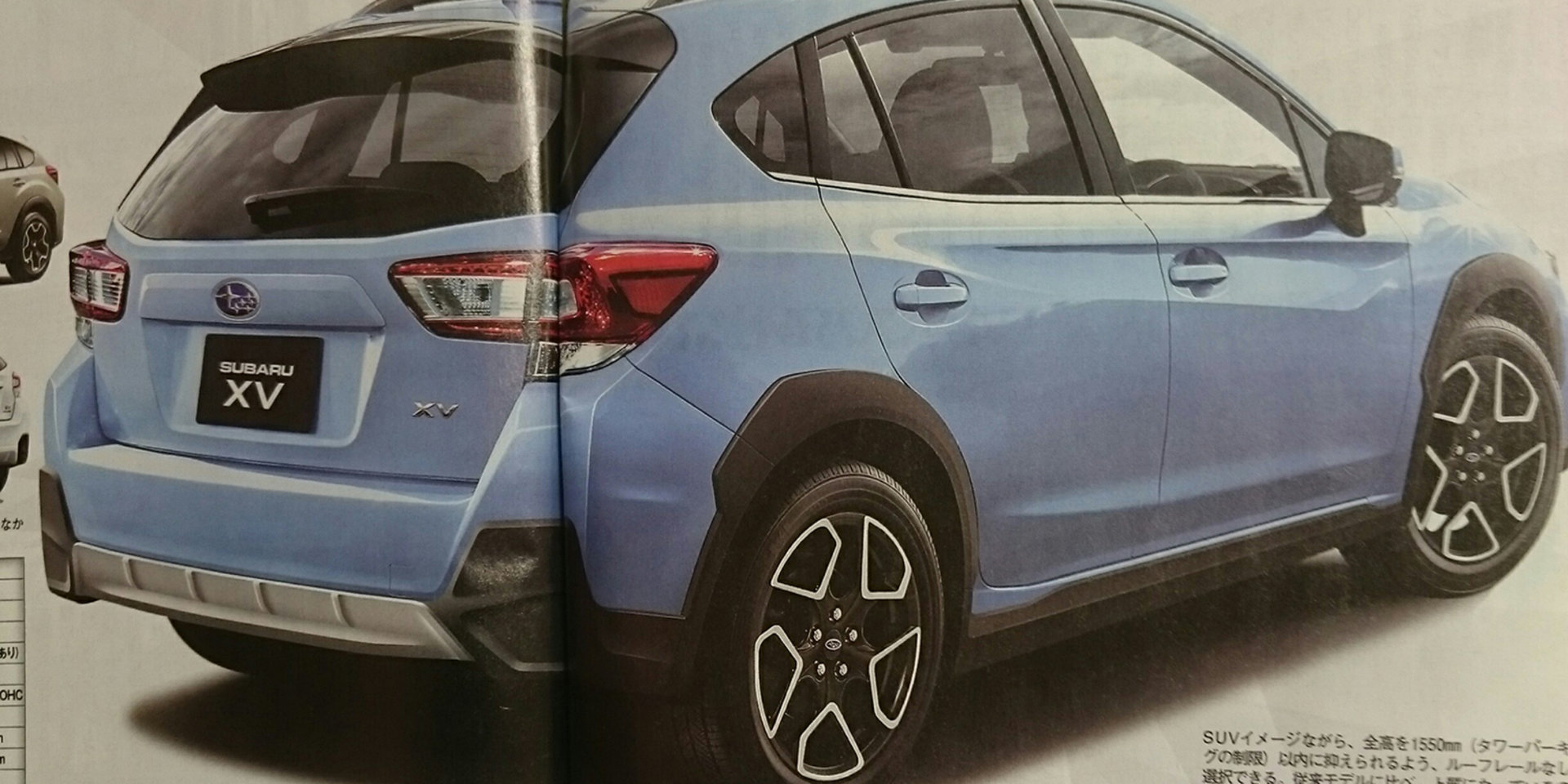 Subaru XV leaked