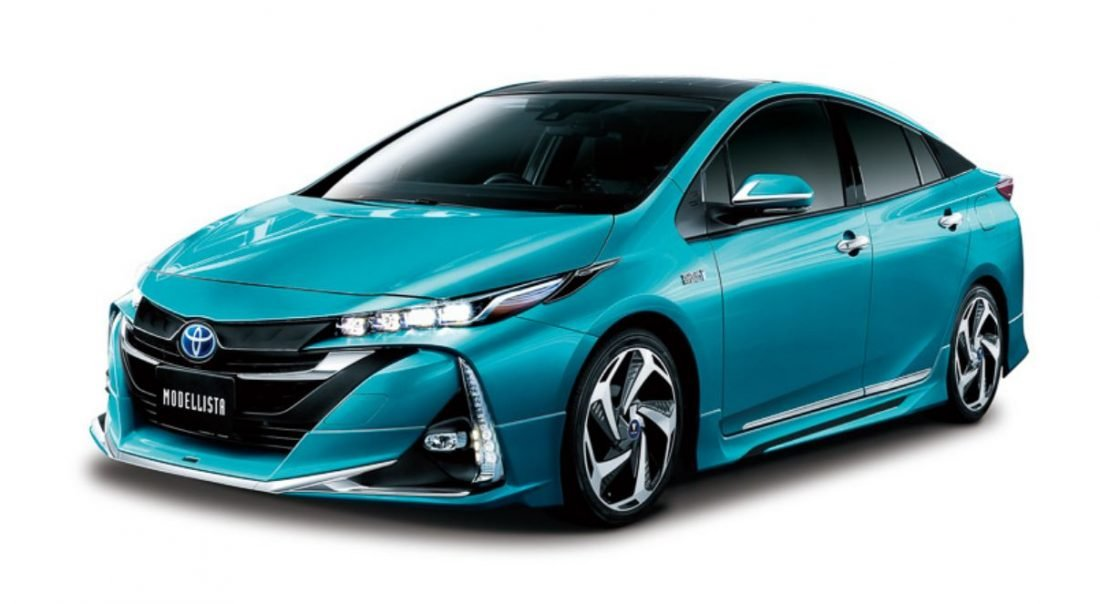 Toyota Prius Plug-in Hybrid Modellista tuning