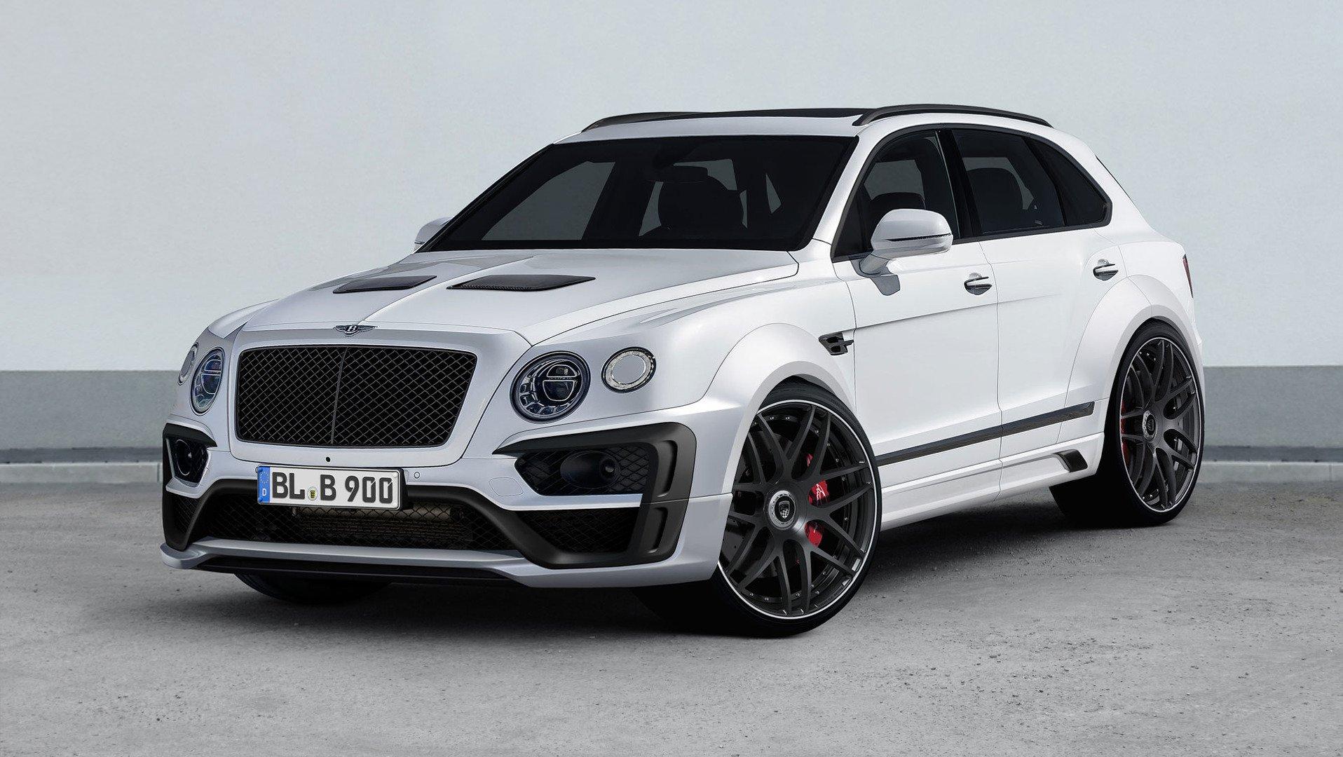 Bentley Bentayga Lumma Design
