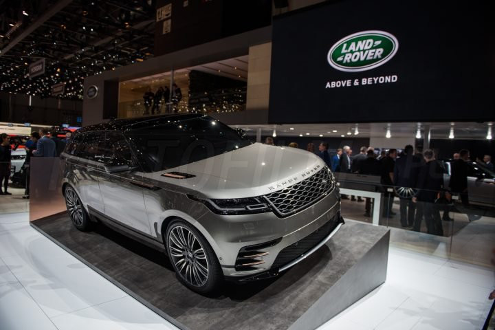Range Rover Velar Genewa 2017