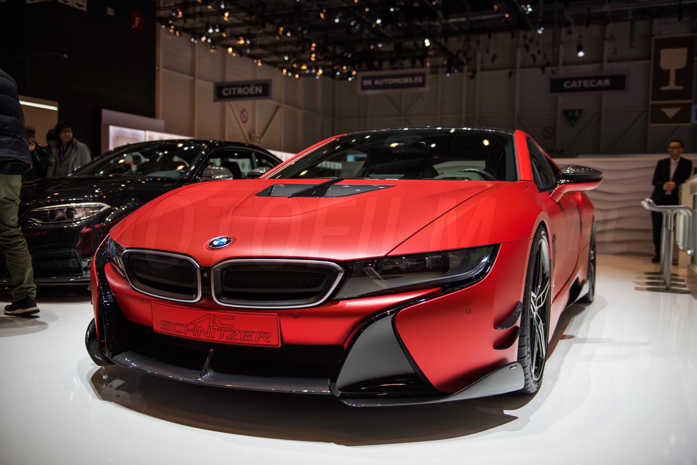BMW i8 AC Schnitzer Genewa 2017