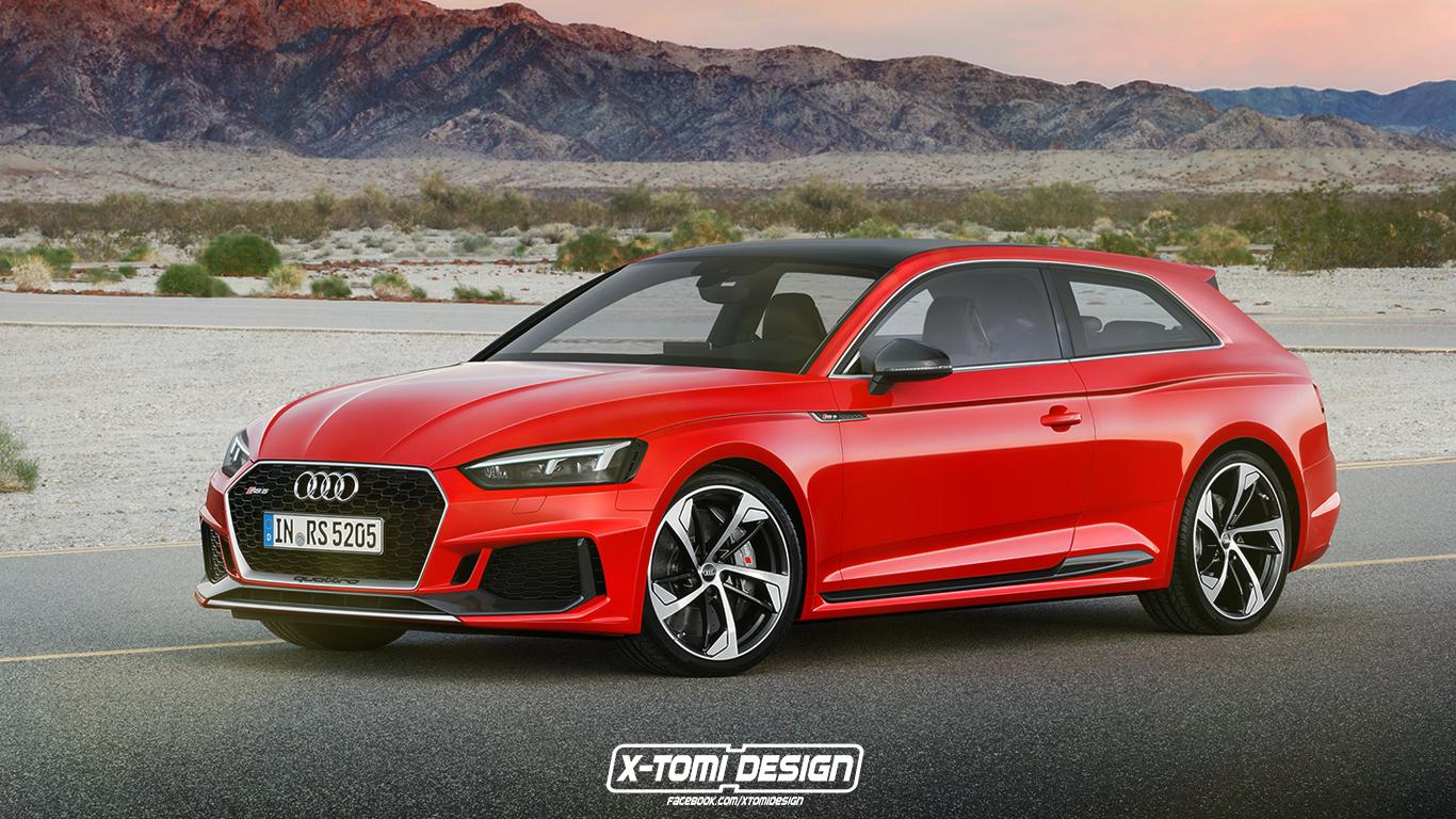 Audi RS5 Shooting Brake X-TOMI