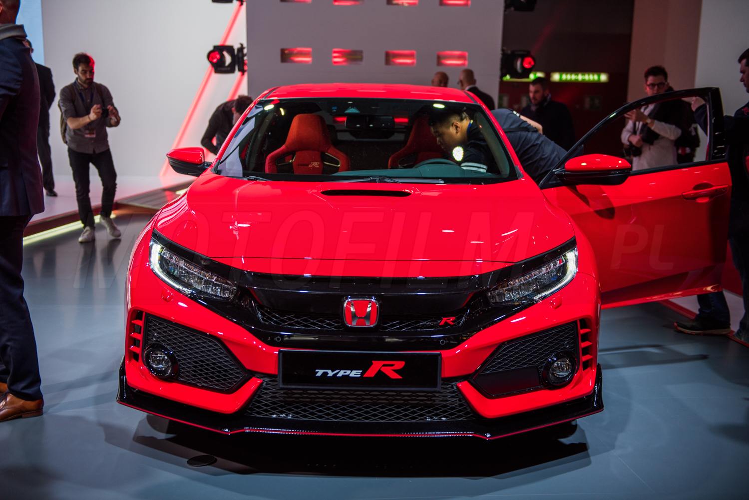 Honda Civic Type R Genewa 2017