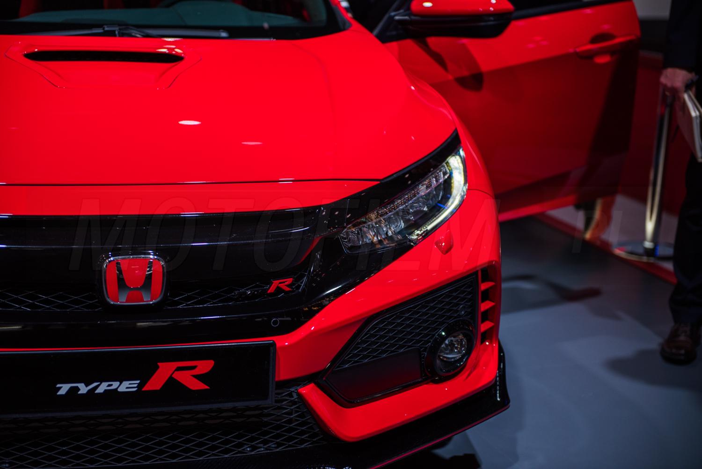 Honda Civic Type R Genewa 2017