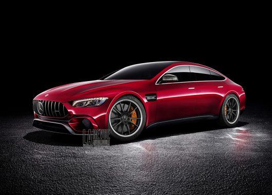 Mercedes-AMG GT4 rendering