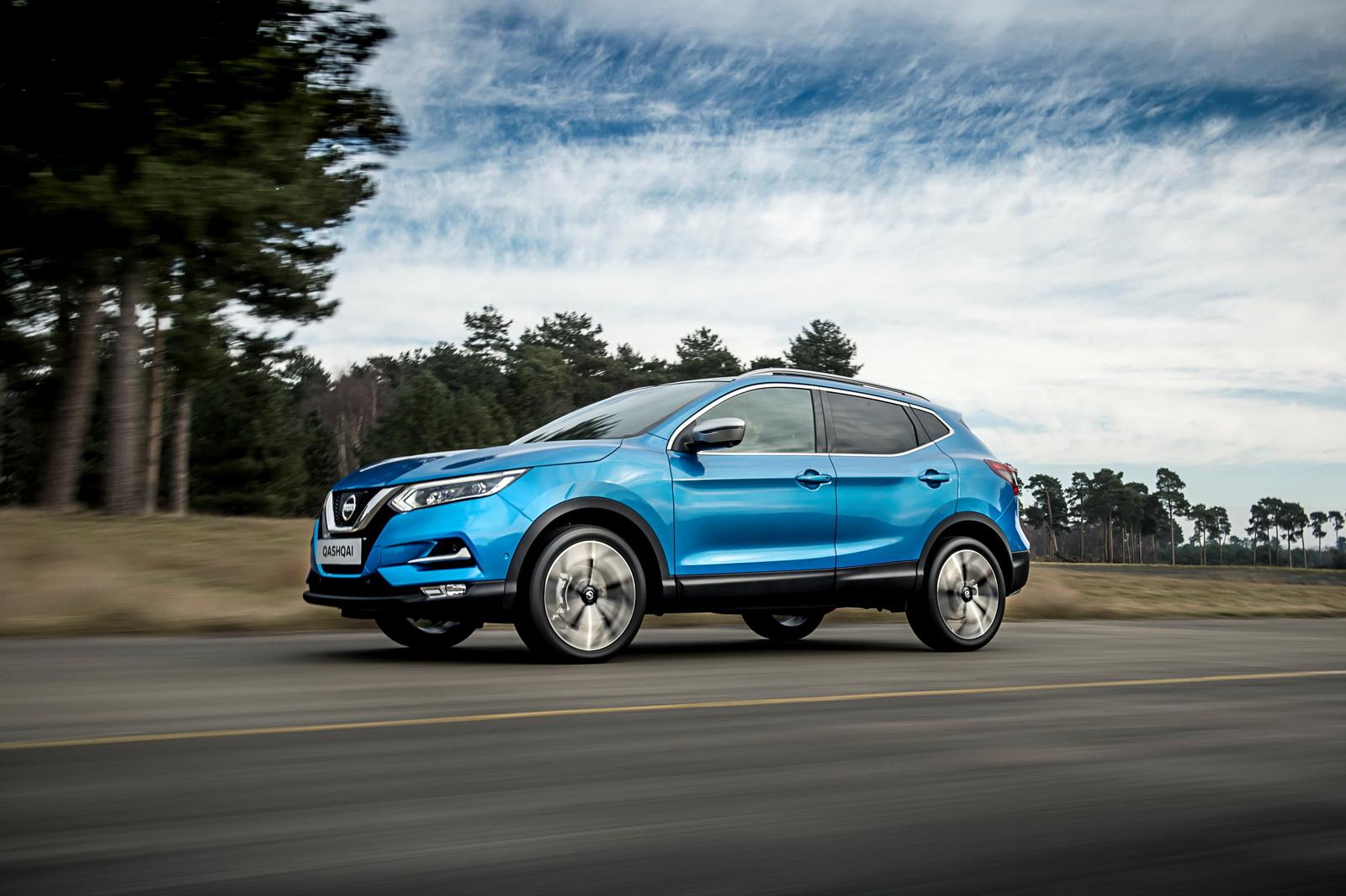 Nowy Nissan Qashqai Facelift 2017
