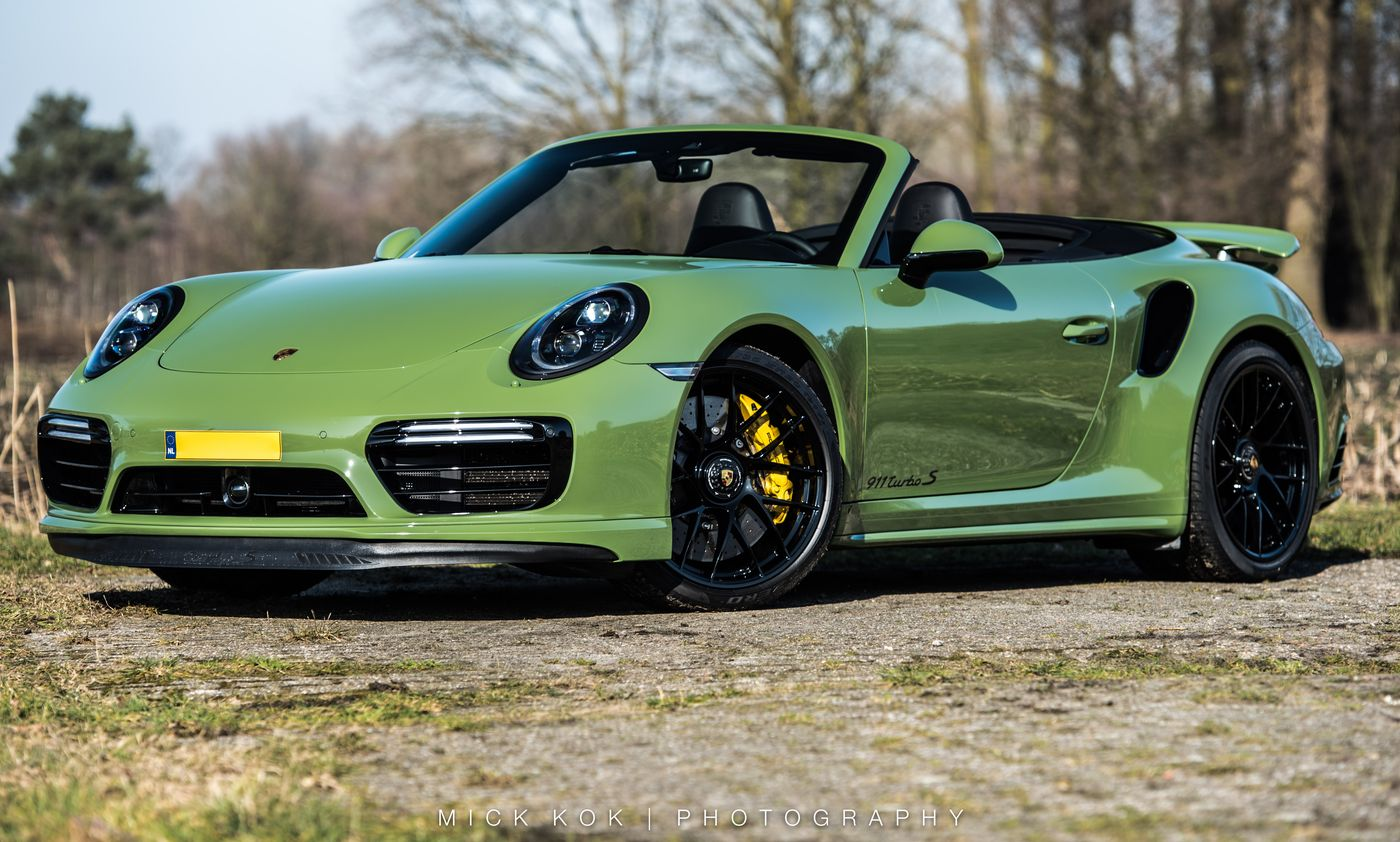 Porsche 911 Turbo S Cabriolet Edo Competition