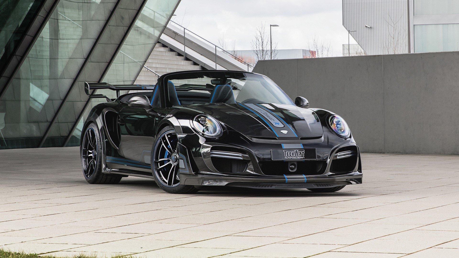 Porsche 911 Turbo Cabriolet po tuningu Techart