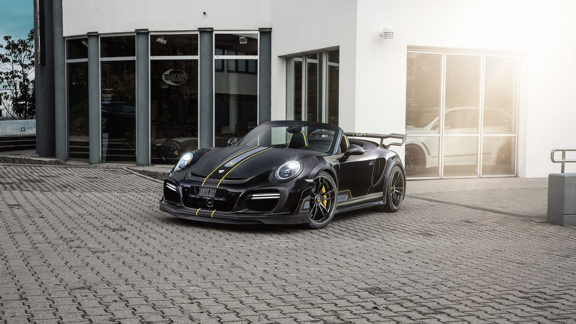 Porsche 911 Turbo Cabriolet po tuningu Techart