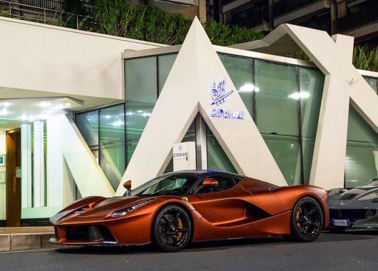 Ferrari LaFerrari Bronze Opaco