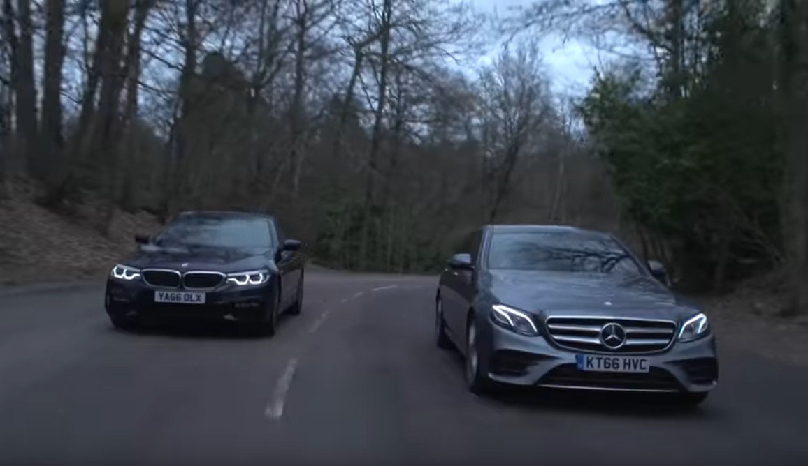 BMW 530d vs. Mercedes E 350d