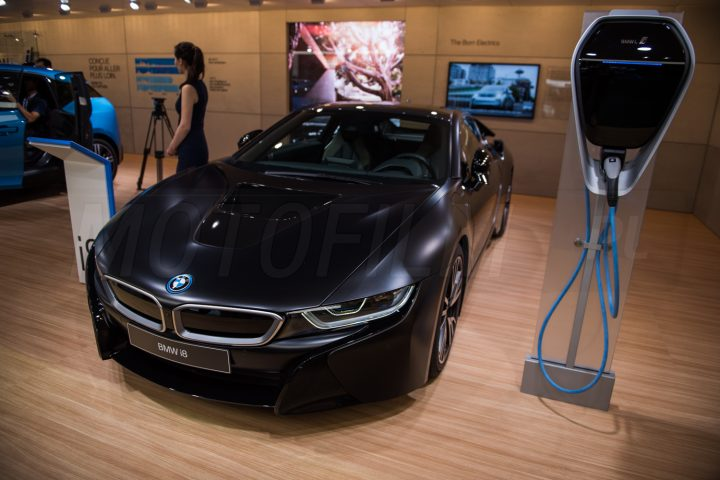 BMW i8 Frozen Black Genewa 2017