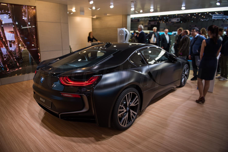 BMW i8 Frozen Black Genewa 2017