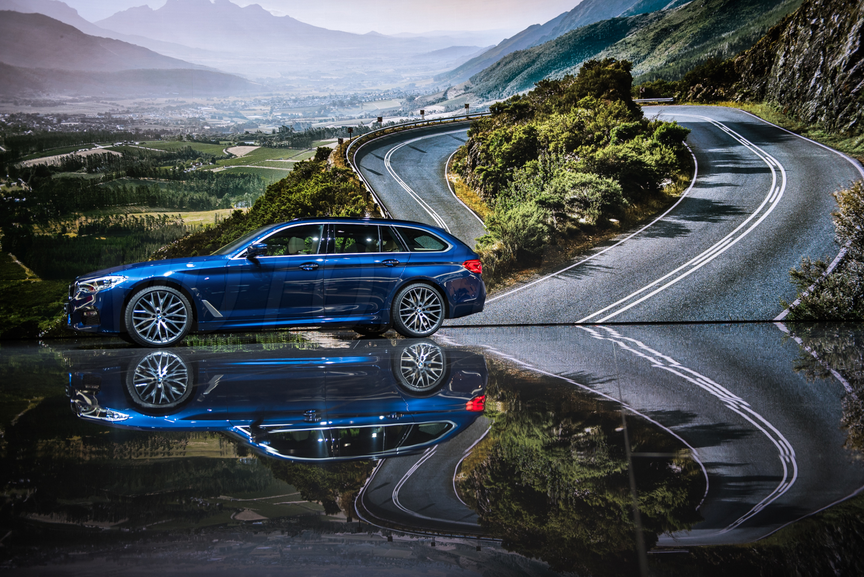 BMW serii 5 Touring Genewa 2017