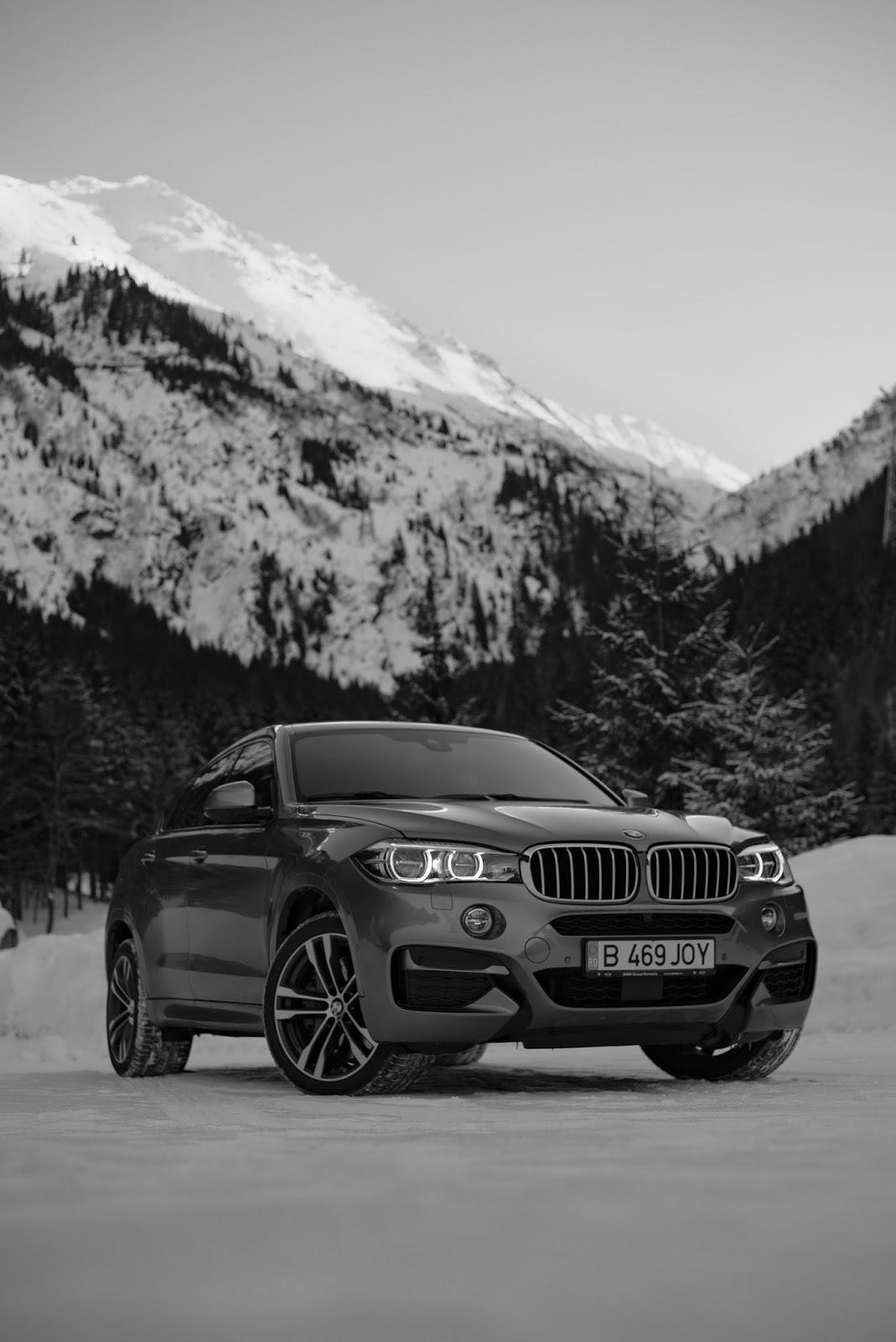 BMW X6M50d Rumunia