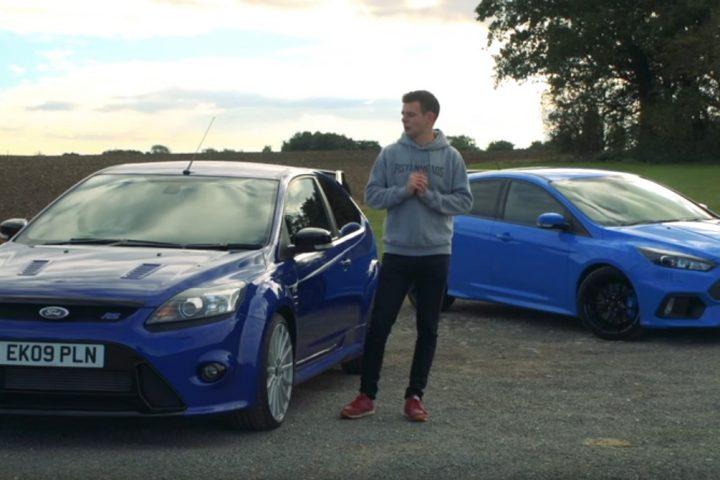 Ford Focus RS Mk2 kontra RS Mk3