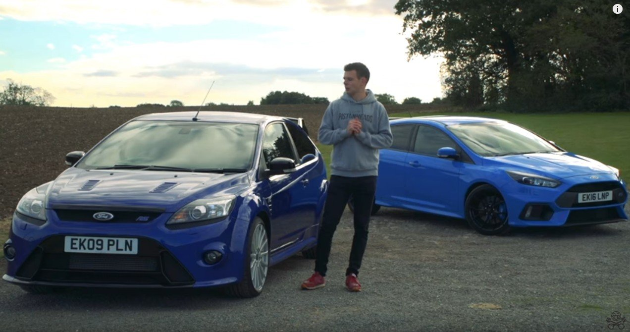 Ford Focus RS Mk2 kontra RS Mk3