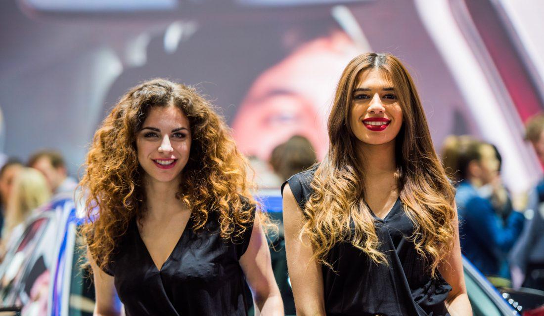 Geneva Motor Show Girls
