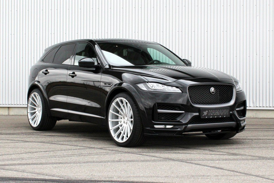 Jaguar F-Pace Hamann tuning