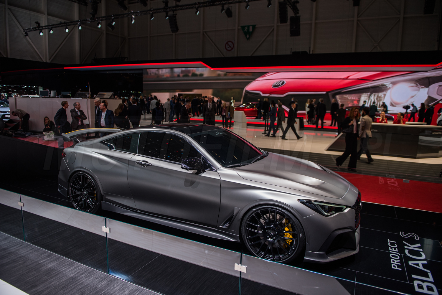 Infiniti Project Black S Genewa 2017