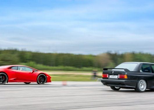 BMW M3 V10 kontra Lamborghini Huracan