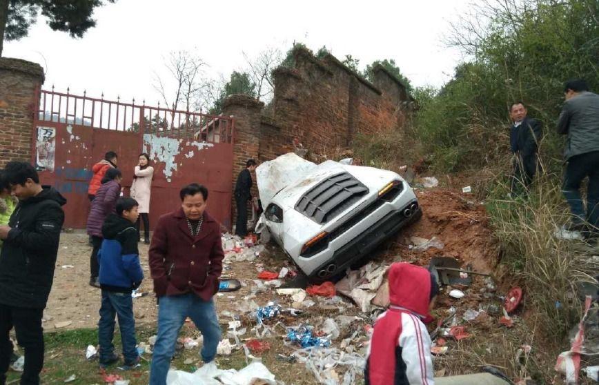 Lamborghini Huracan CRASH