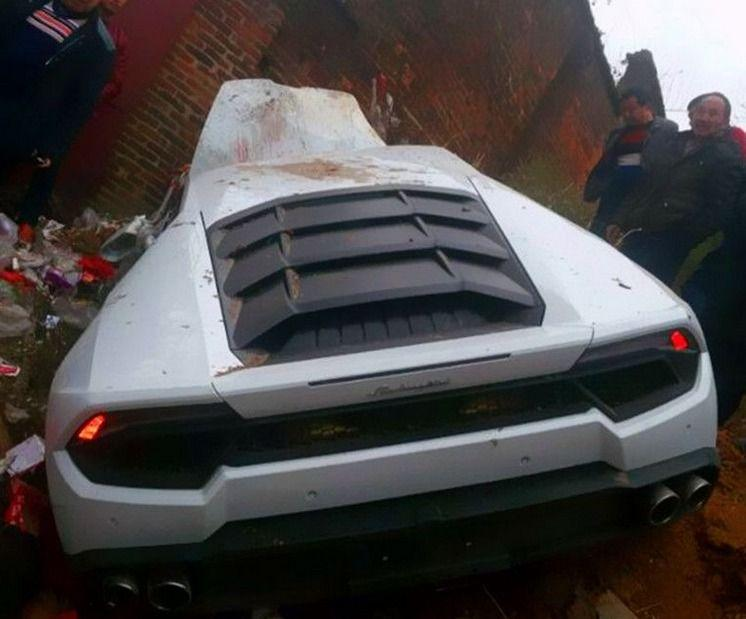 Lamborghini Huracan CRASH