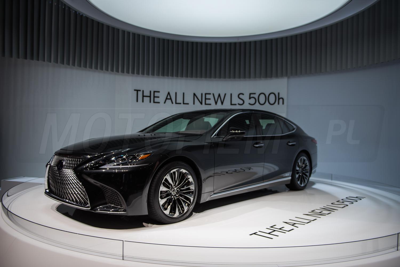 Lexus LS500h Genewa 2017