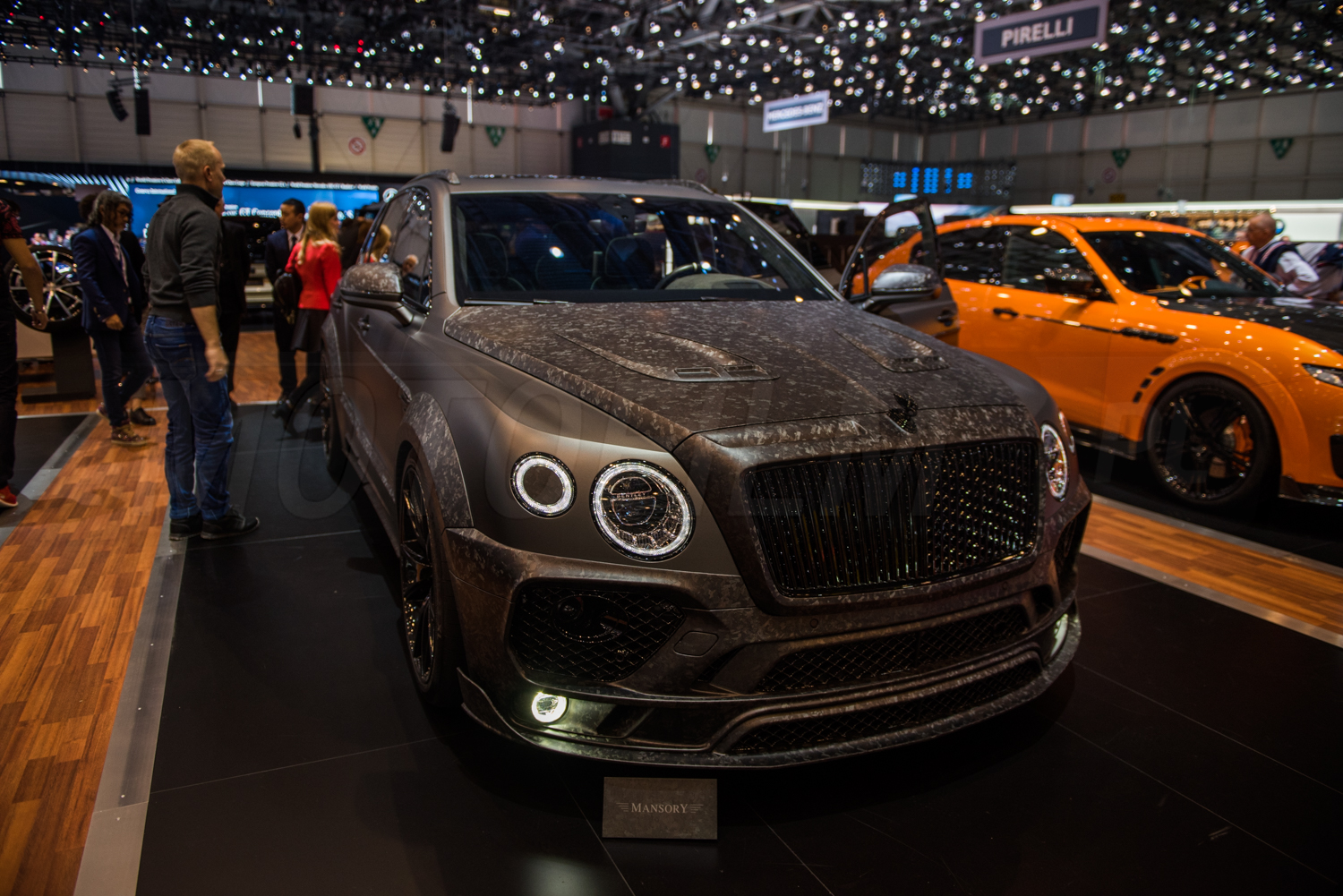 Bentley Bentayga Black Edition Mansory