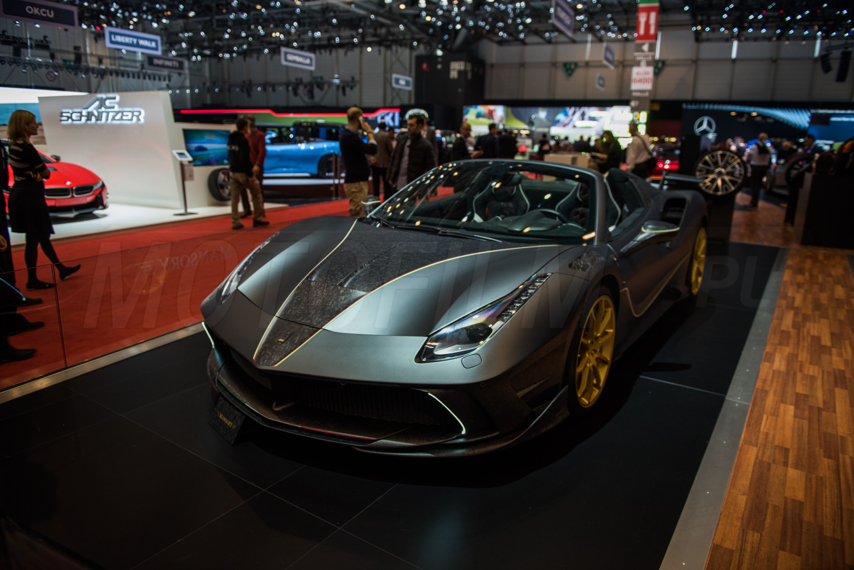 Ferrari 4xx Siracusa Spider Mansory