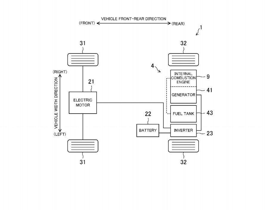 Mazda patent