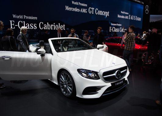 Mercedes E Cabriolet Genewa 2017