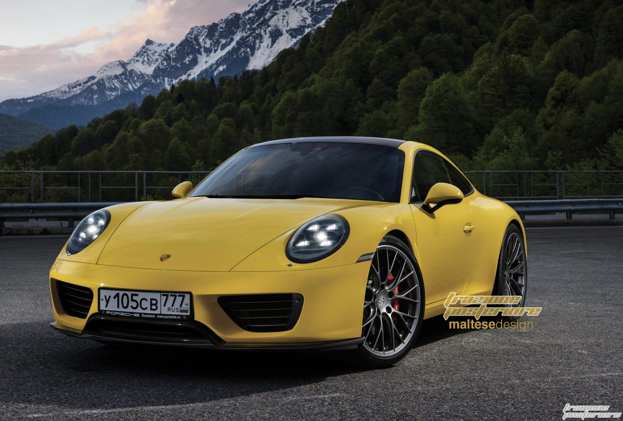 2019 Porsche 911 rendering