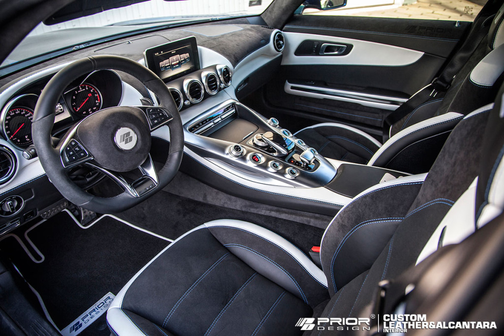 Mercedes AMG GT Prior Design interior
