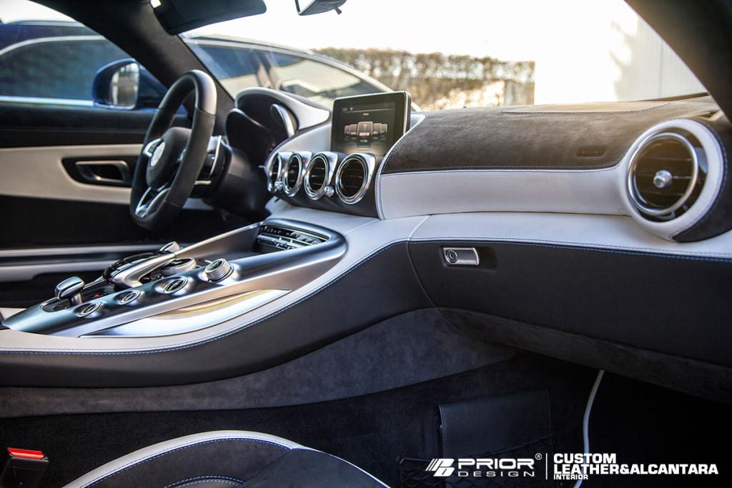 Mercedes AMG GT Prior Design interior