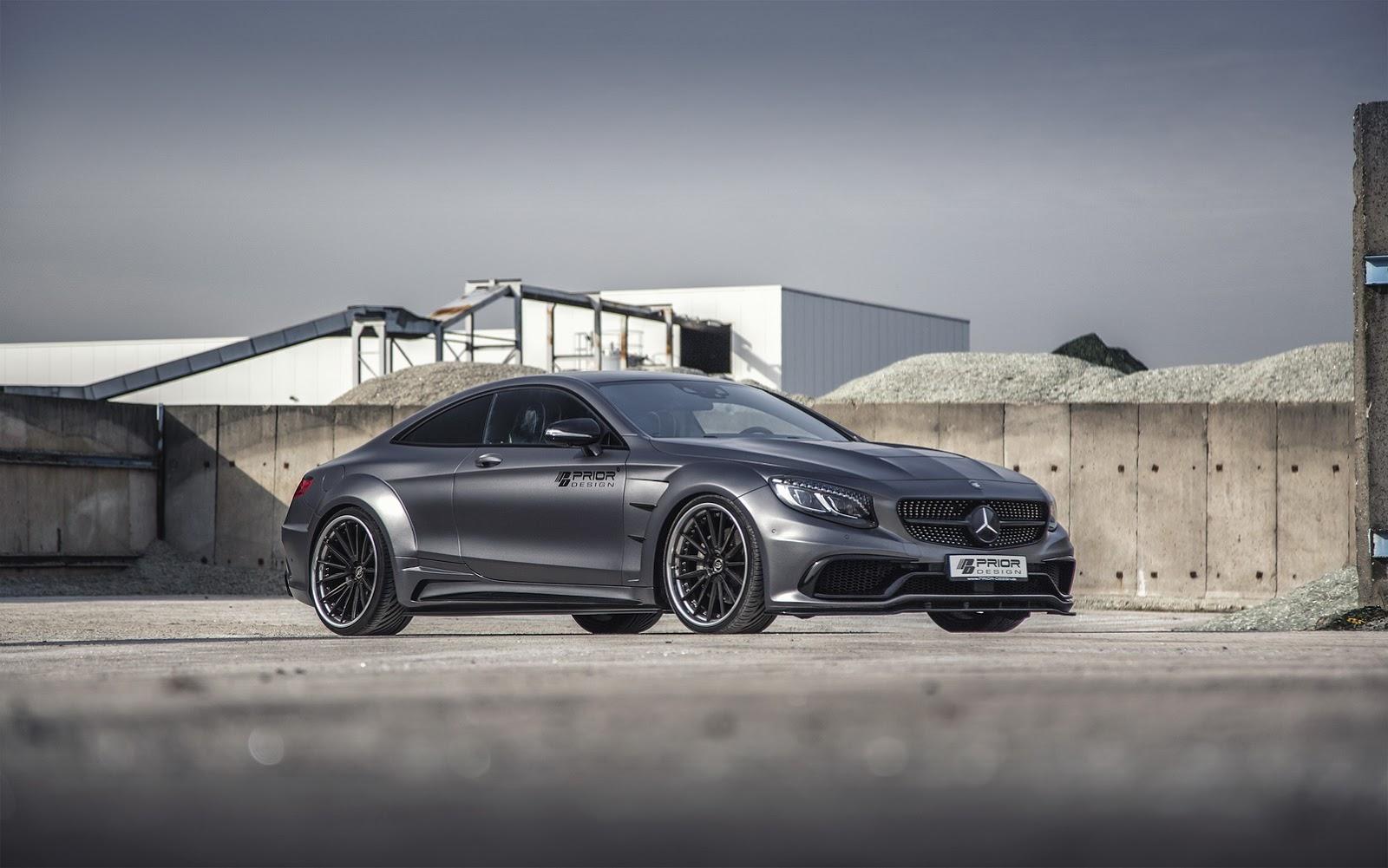 Mercedes Klasy S Coupe Prior Design