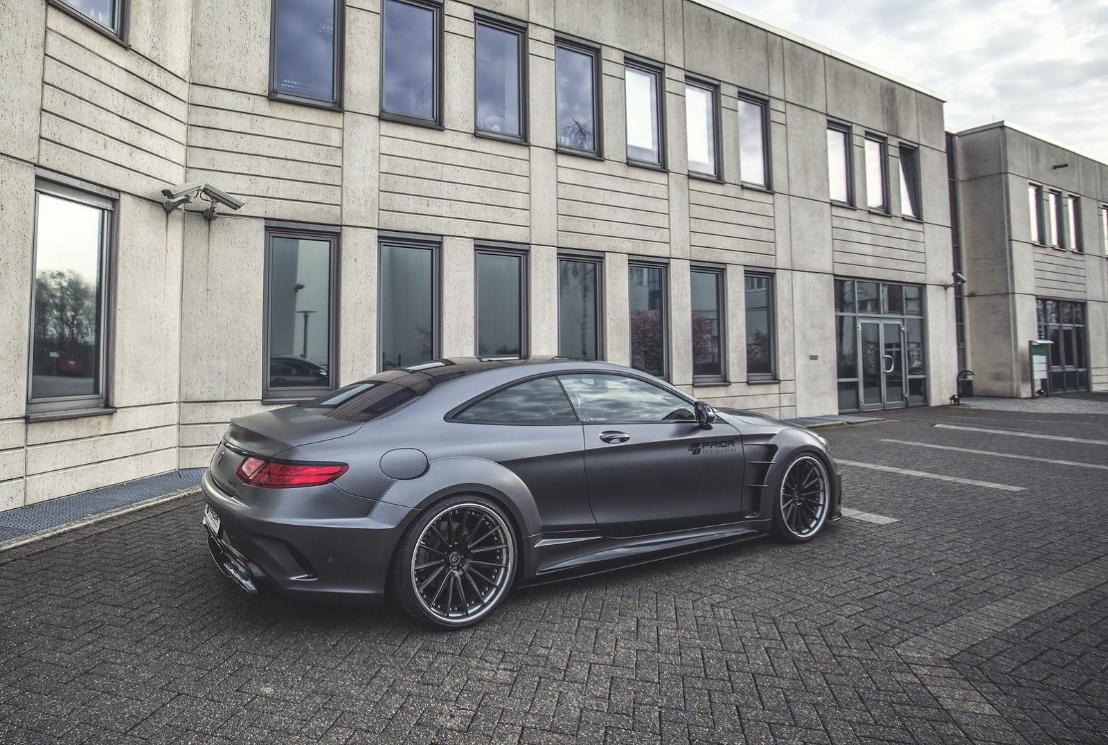 Mercedes Klasy S Coupe Prior Design