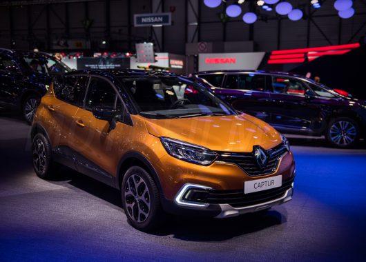Renault Captur 2017 Genewa