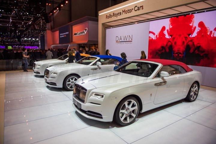 Rolls-Royce Dawn Inspired by Fashion [Genewa 2017]
