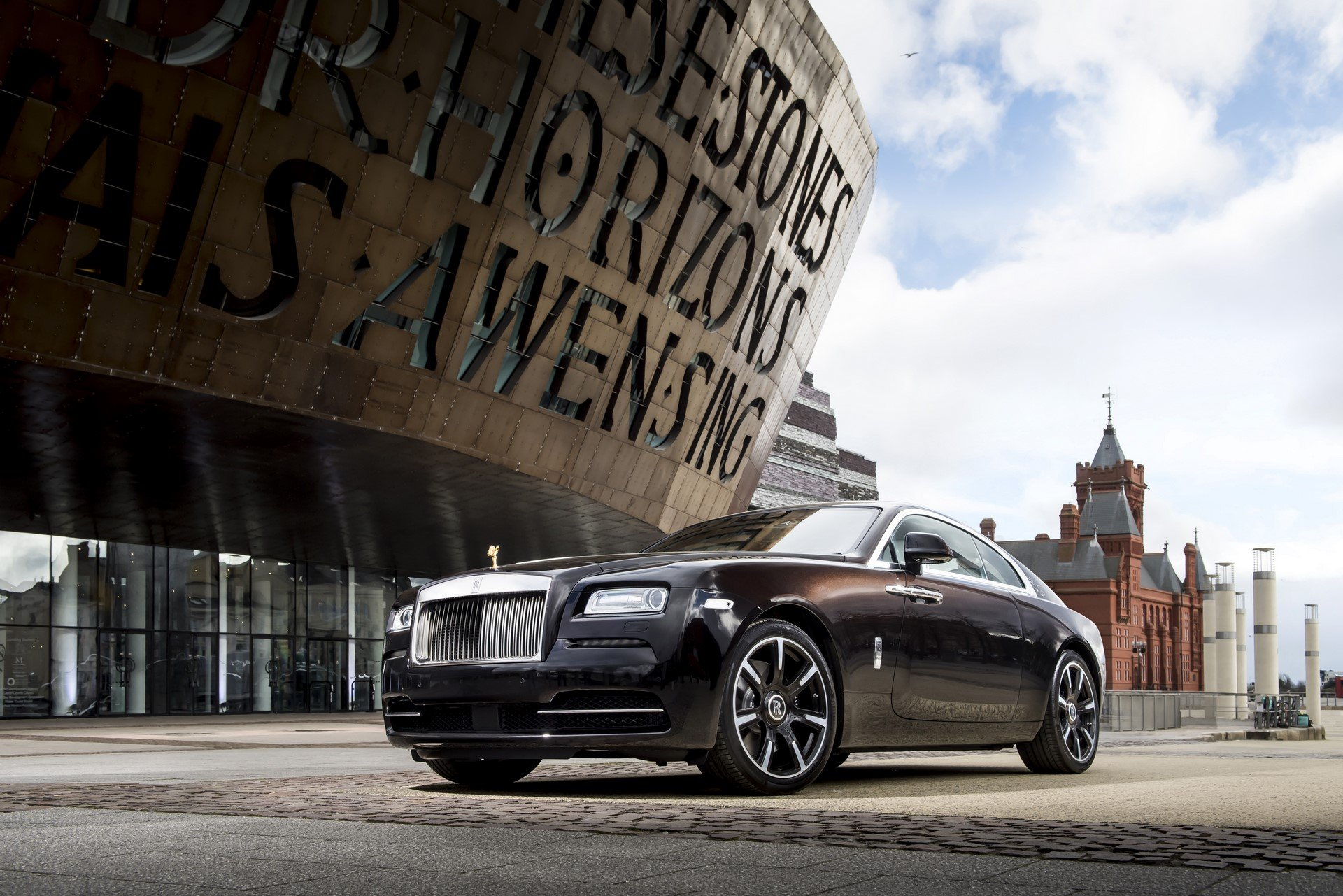 Rolls Royce Wraith british music